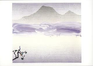 Lichtenstein Landscape in Fog 1996