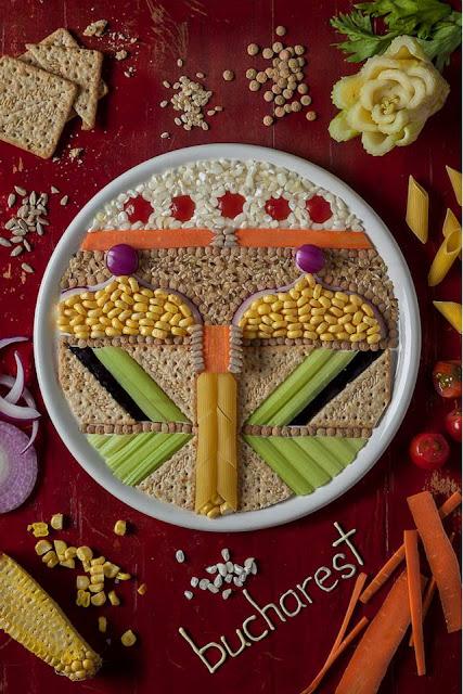 Original comida creativa