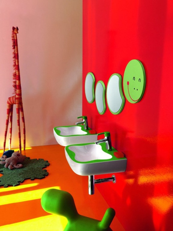 Kids Bathroom Interior Home Design