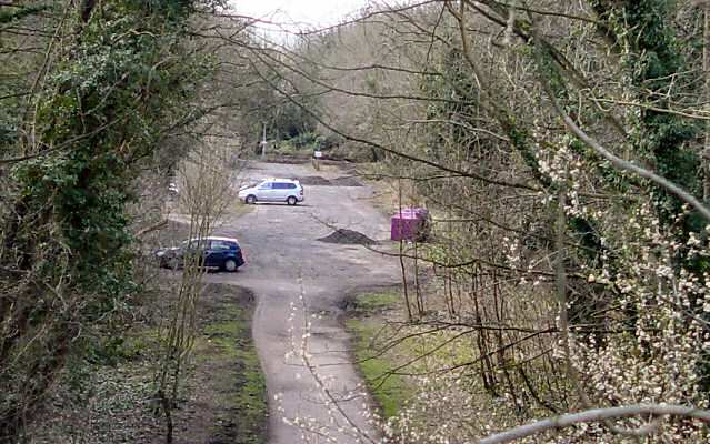Where Wetherby Railway Station used to be