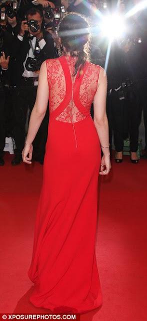Kristen Stewart red dress
