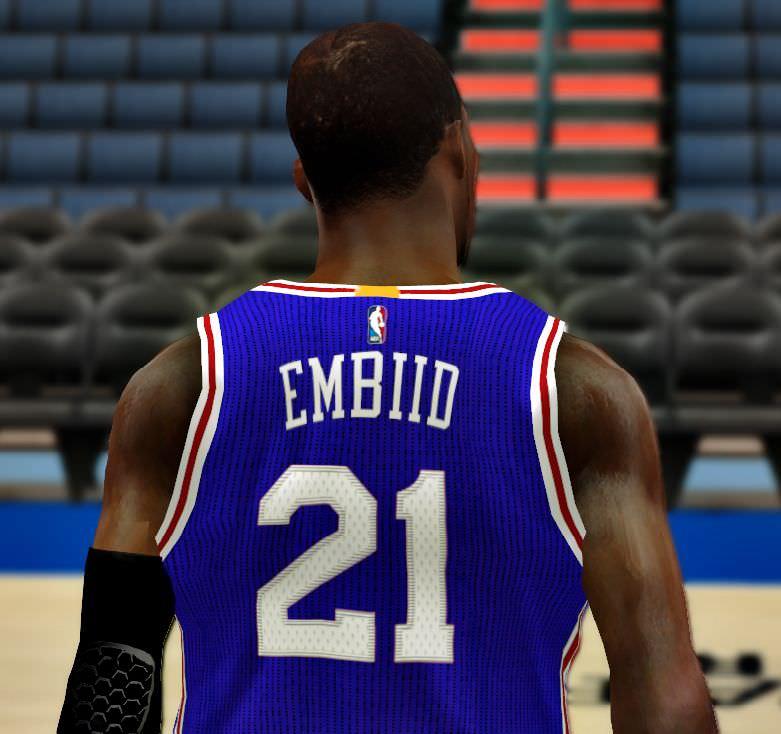 NBA 2k14 Philadelphia 76ers 2016 Jersey Patch ... ff5ea0bc5