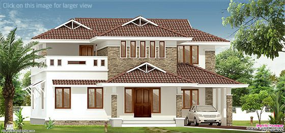2700 sq.feet villa elevation
