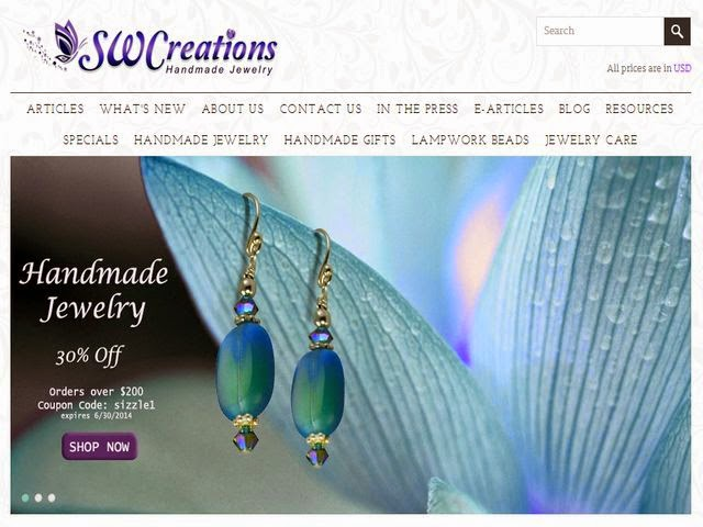 original beaded jewelry and elegant handmade gifts
