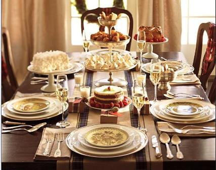 El tiempo entre tus manos c mo preparar la mesa de - Como preparar la mesa de navidad ...