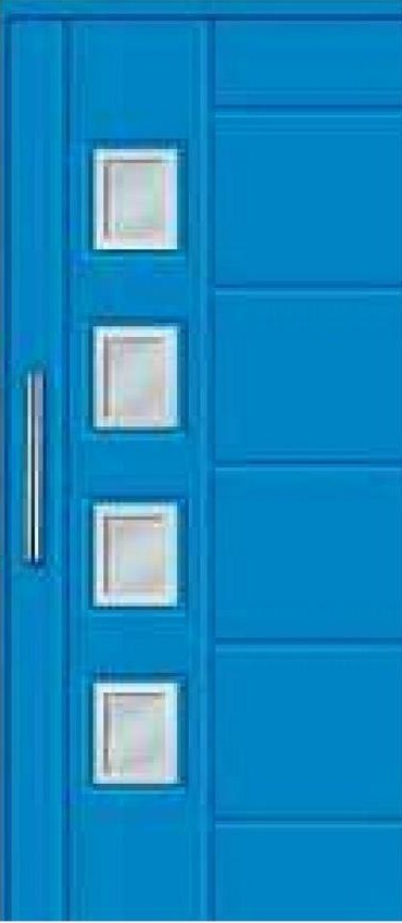 Todo puertas modernas en aluminio puertas de la serie for Puertas interiores modernas de aluminio