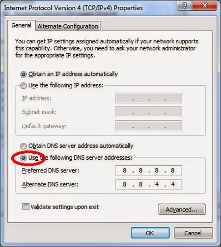 Tốc độ duyệt web trong khi chờ sửa cáp quang