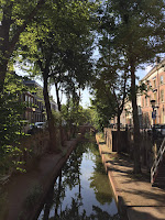 View during a run - Utrecht