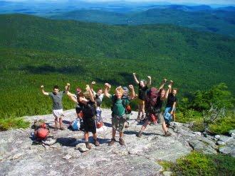 Teen wilderness adventure