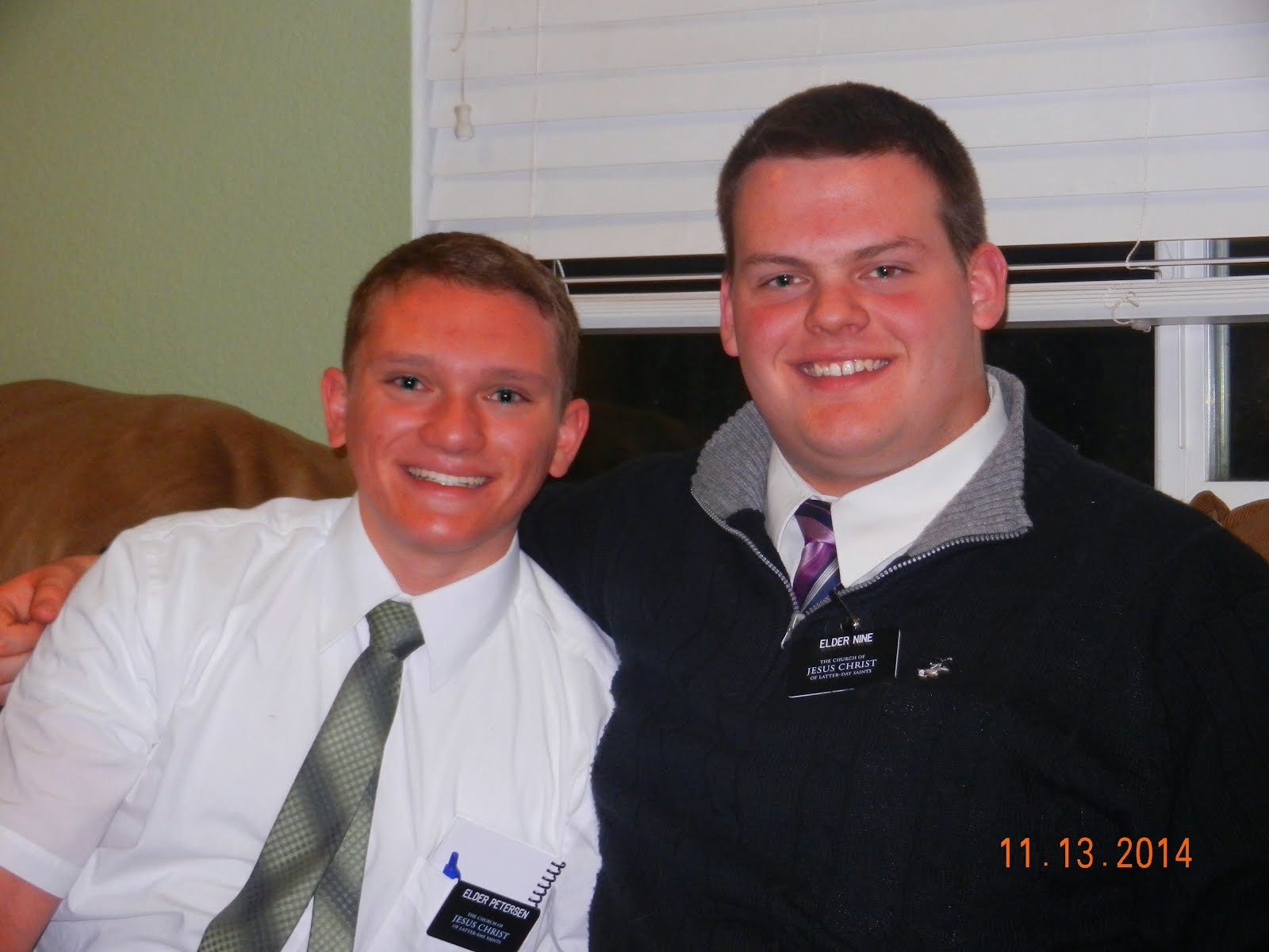 8TH COMPANION, ELDER PETERSEN