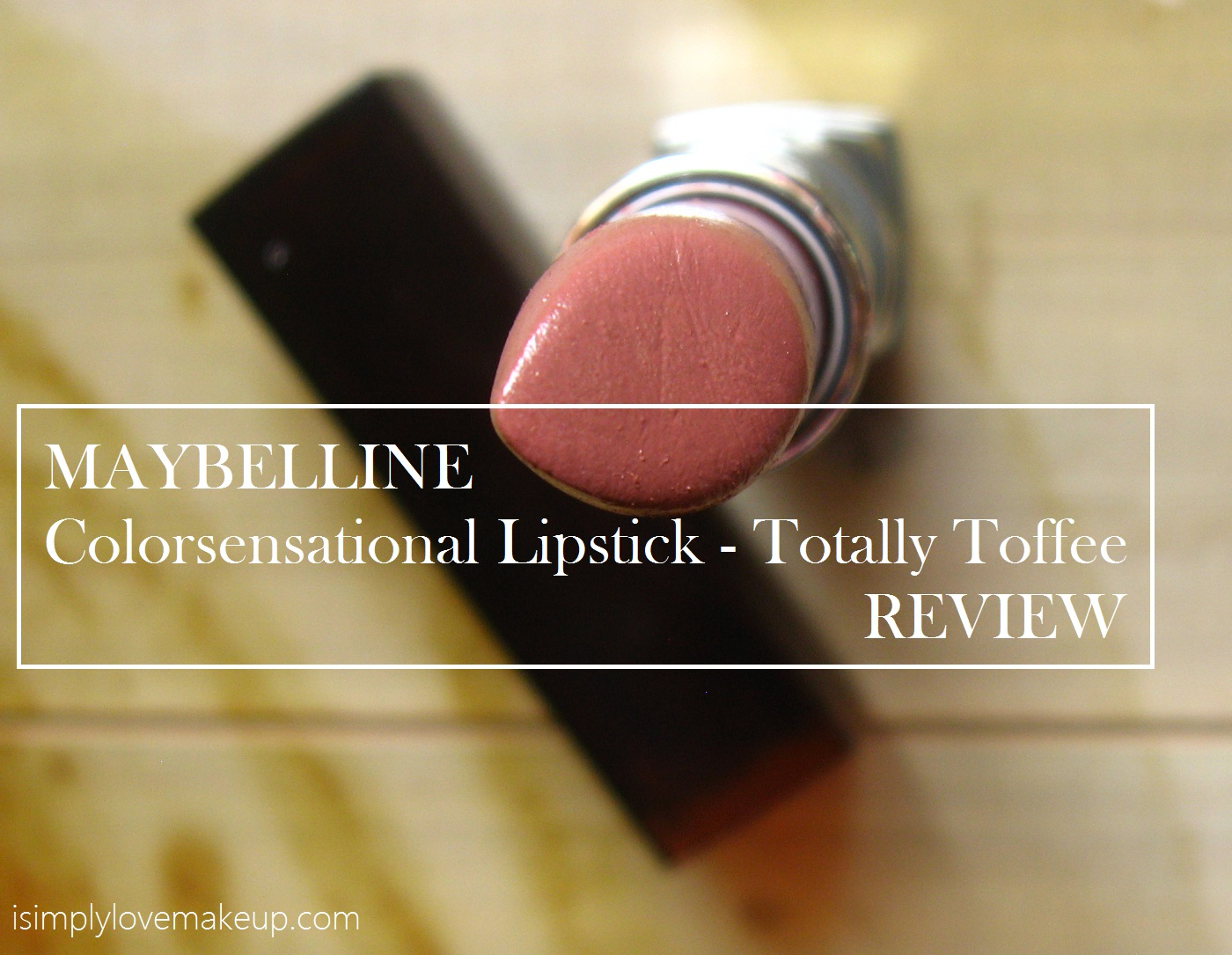 Maybelline Color Sensational Lipstick in Totally Toffee