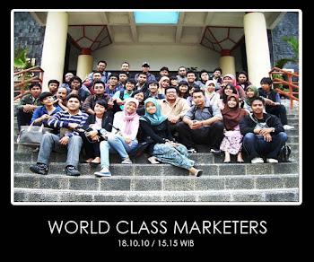 WORLD CLASS MARKETERS