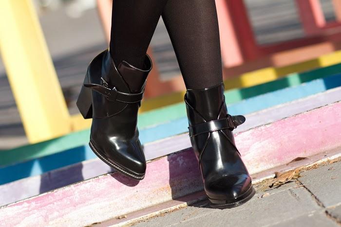 Bloggers Botines de hebillas de Zara