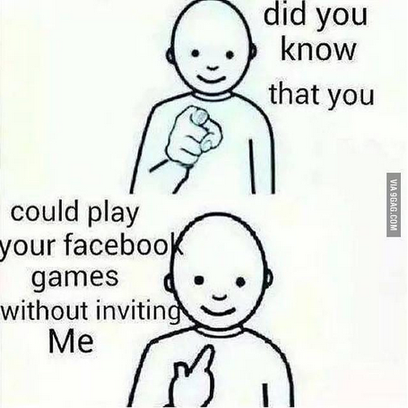 your facebook games