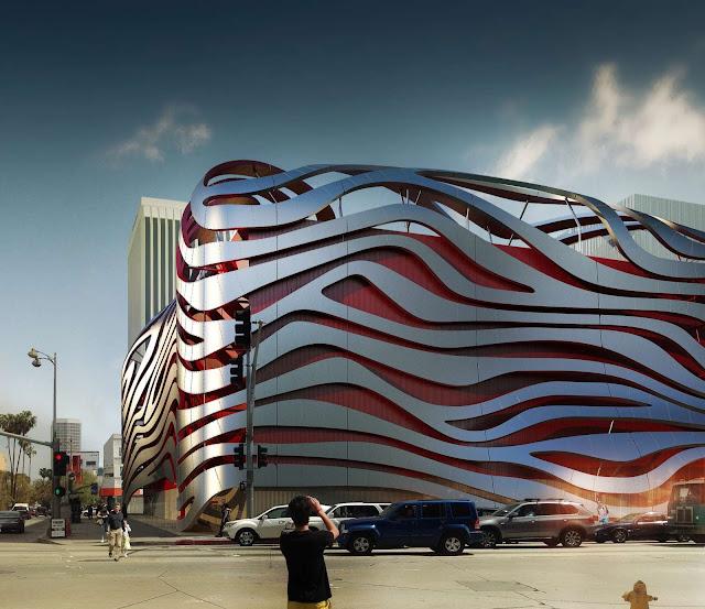 04-Petersen-Automotive-Museo de la capacidad de la renovación por Kohn Pedersen-Fox-