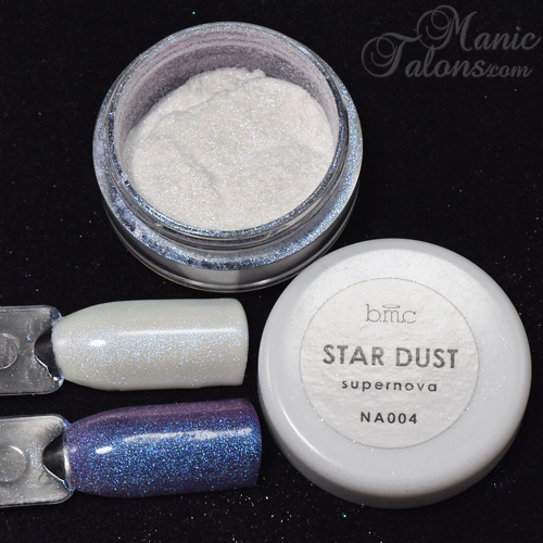 Bundle Monster BMC Stardust Pigment Supernova Swatch