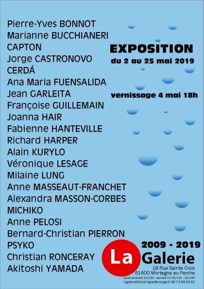 MORTAGNE AU PERCHE : 22 ARTISTES POUR L'ULTIME EXPOSITION A LA GALERIE MIREILLE SENAUX-DURAND