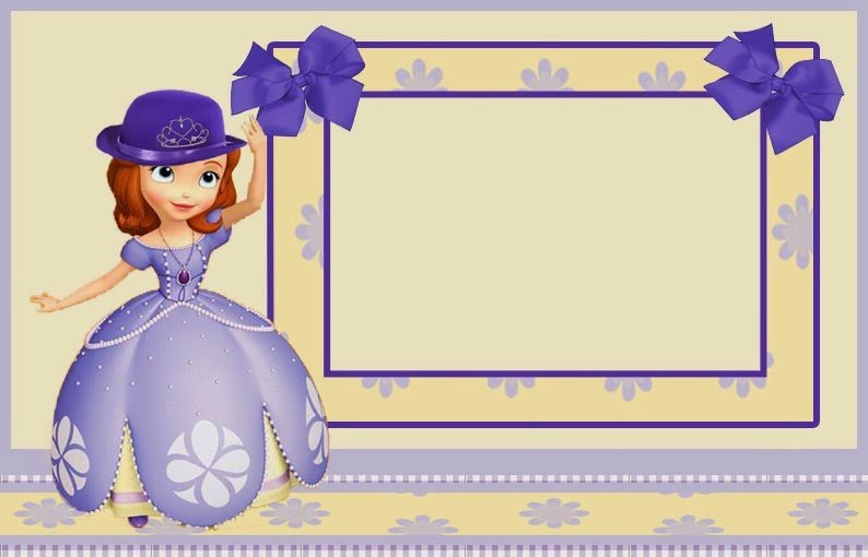 Sofia the First Printable Invitations Free
