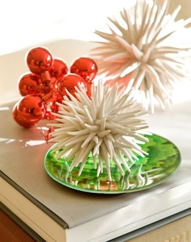white porcelain sea urchins