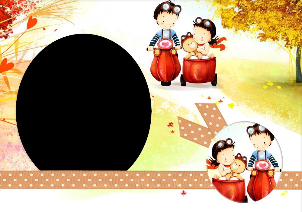 Frames Cute Love Cartoons