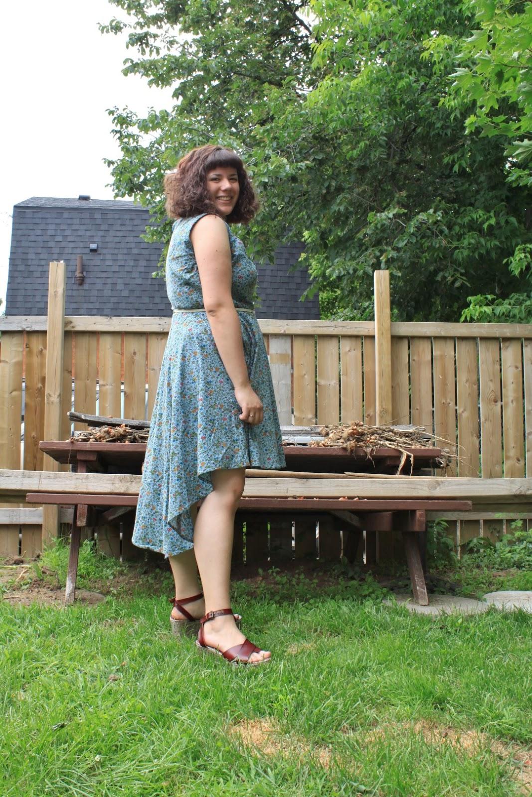 Hopefully Smashing: Hi-Low Mullet Dress