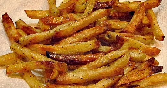 This Simple Home: Homemade Baked French Fries
