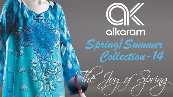 Alkaram Studio Spring Summer Collection 2014 with Price