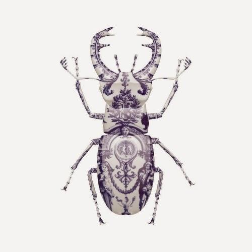 06-Delft-Stag-Beetle-Delft-Porcelain-British-Artist-Magnus-Gjoen-www-designstack-co