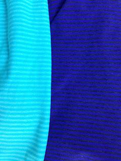 Style Athletics Stripe Workout Pants Yoga Blue Purple Kyodan MPG Mondetta Performance Gear