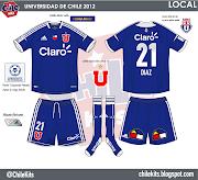 UNIVERSIDAD DE CHILE 2012LOCAL y VISITA
