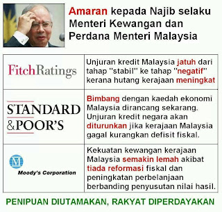 Amaran buat Datuk Seri Najib Razak