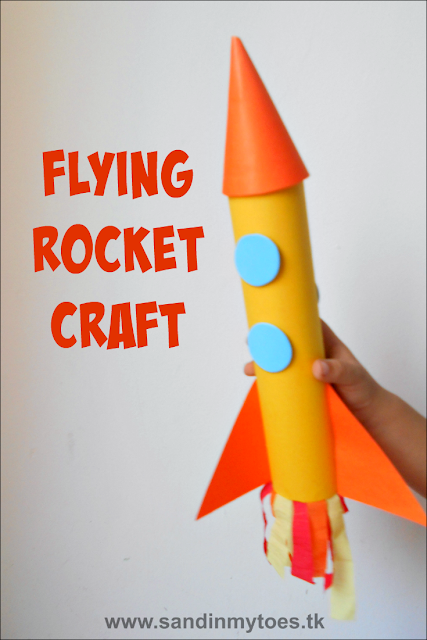 Flying Rocket Craft for Kids