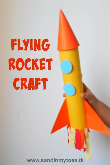 Flying Rocket Craft for Kids