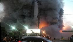Medan Plaza Kebakaran