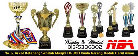 Tempahan Trophy & Medal