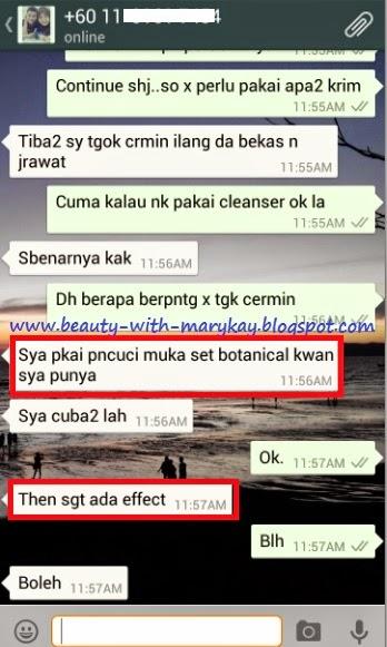 Marykay Botanical effect skincare