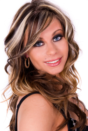 dark blonde hair with highlights. hot Hair Highlights