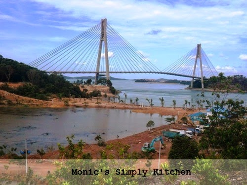 icon kota batam jembatan barelang