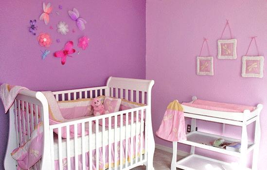 Pinturas y decoraci n 35 habitaciones para ni os - Dibujos habitacion bebe ...