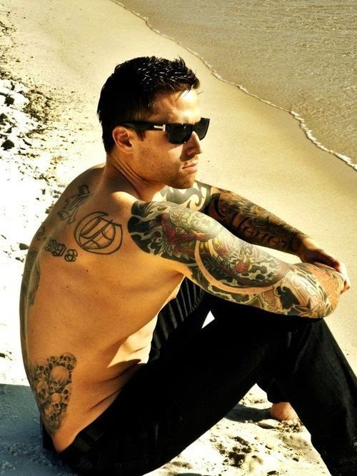 Men Stylish tattoos