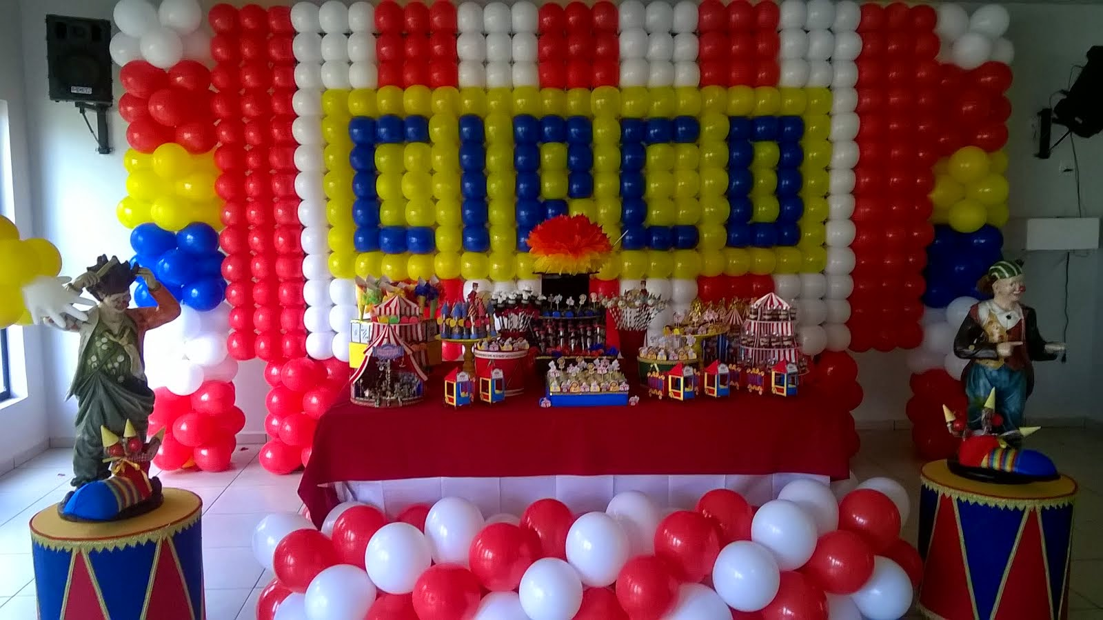 Painel Circo balão