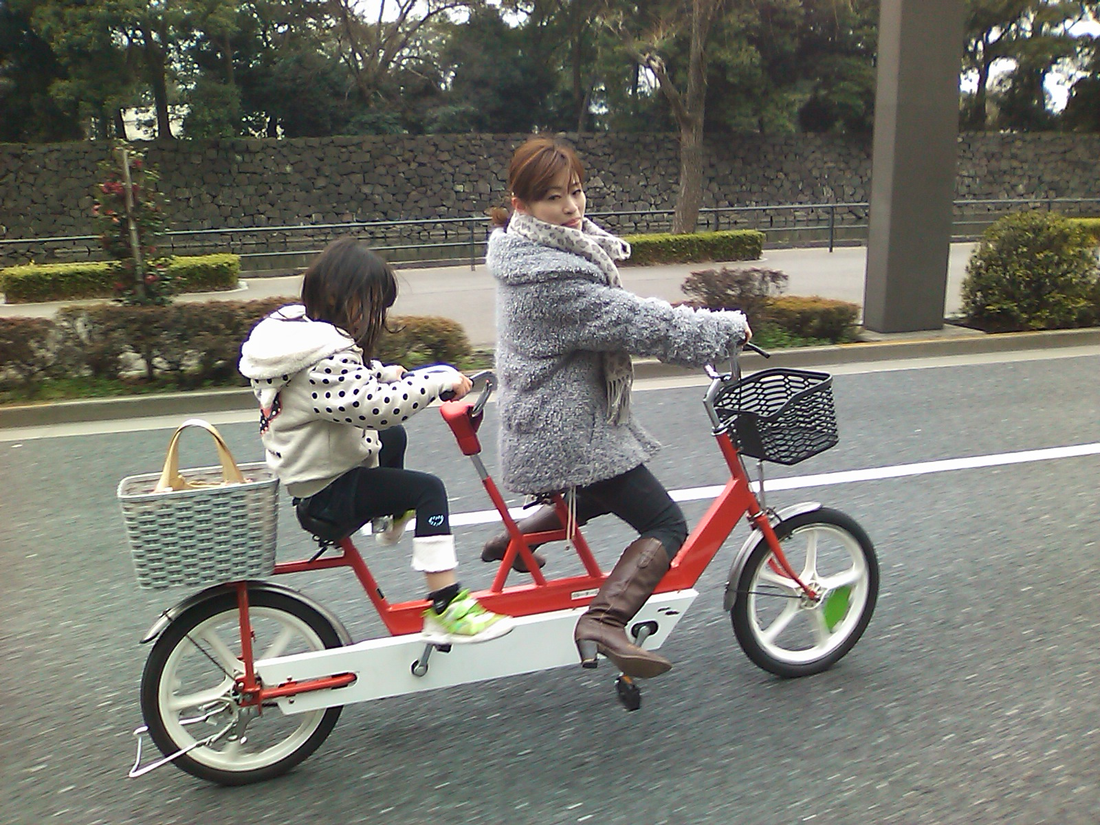 I Participated In A Wonderful Bike Ride Around The Imperial Palace