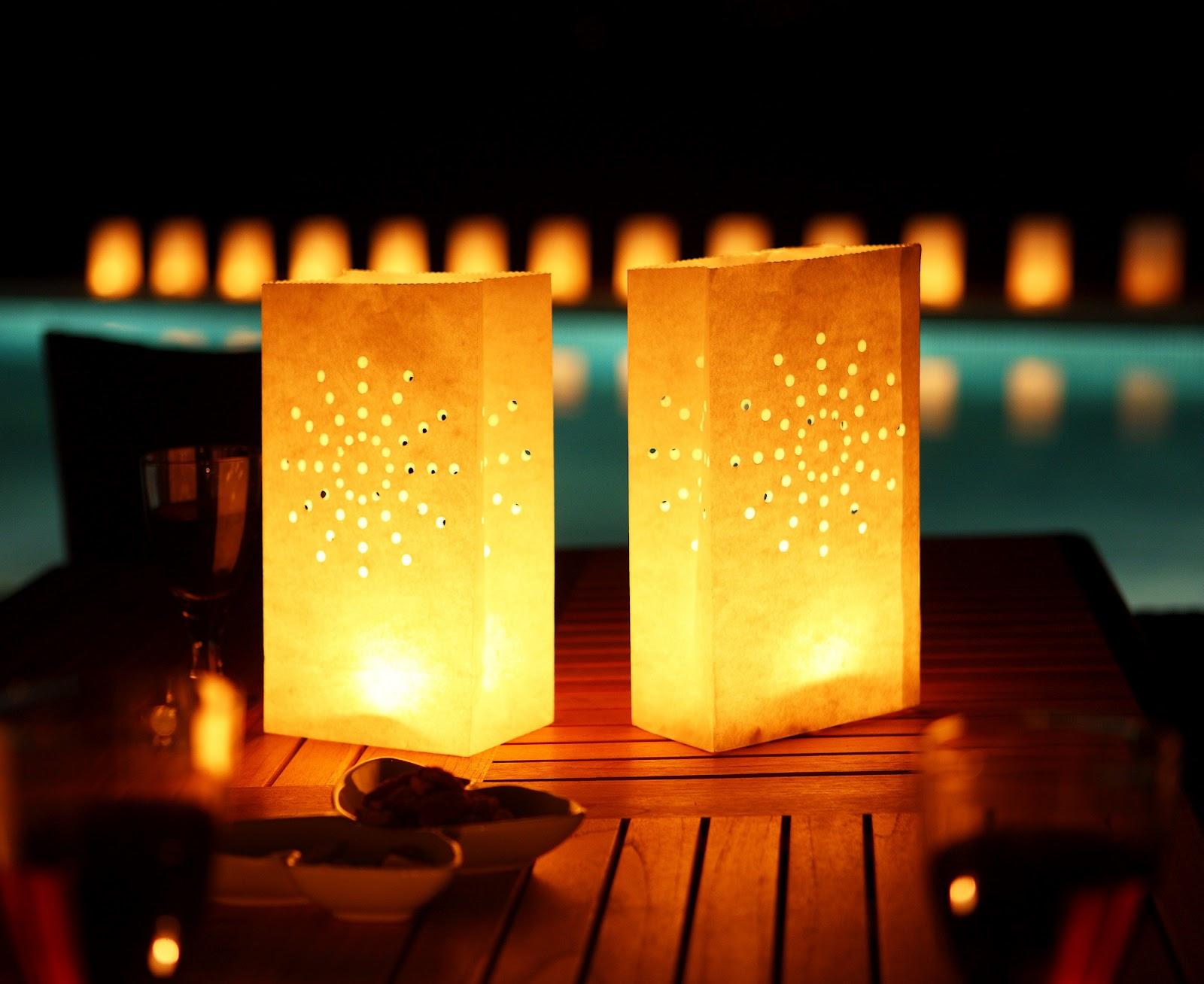 paper lanterns. Black Bedroom Furniture Sets. Home Design Ideas