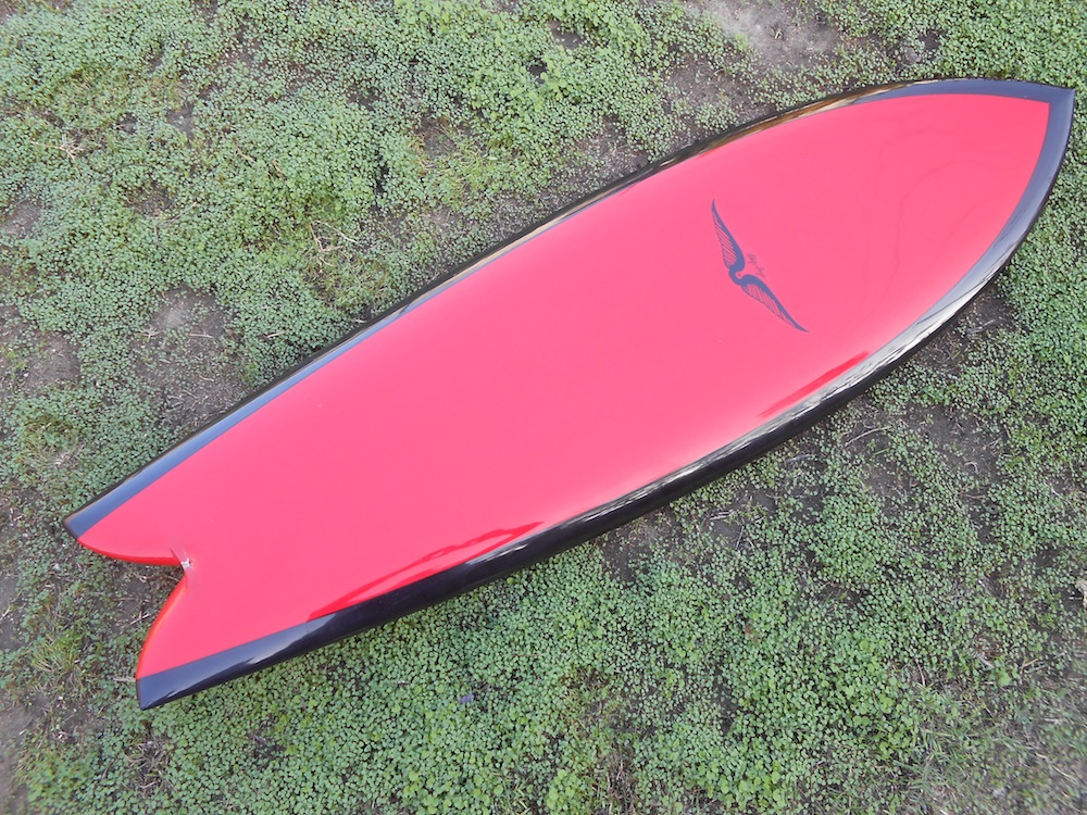 A day at the beach skip frye for Fish surfboard for sale