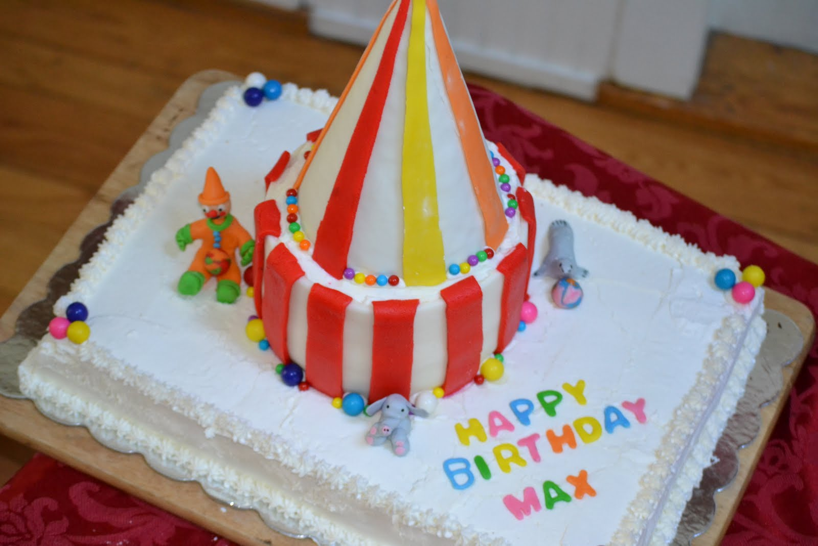 Cakes By Craig Kids Circus Tent Birthday Cake