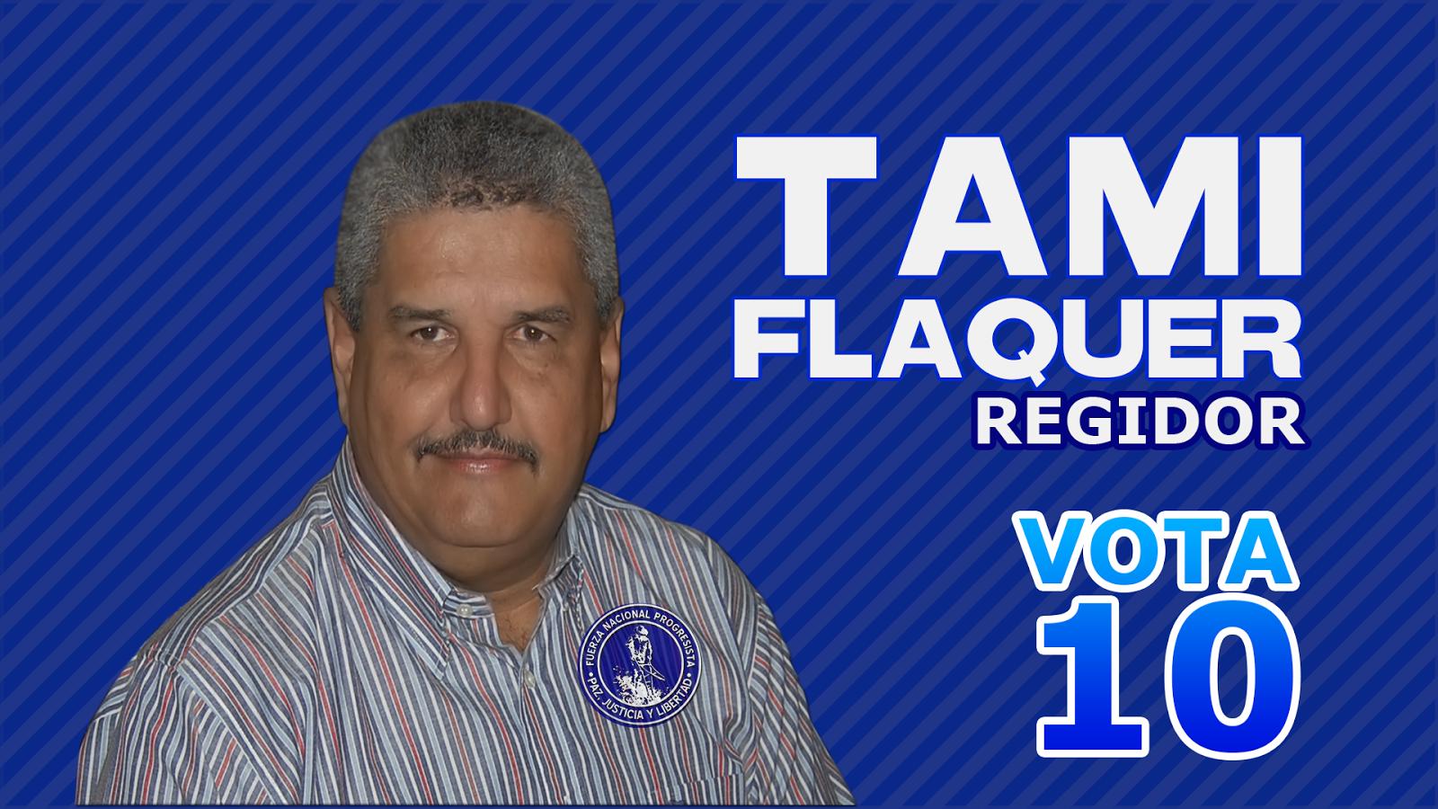 TAMI FLAQUER REGIDOR