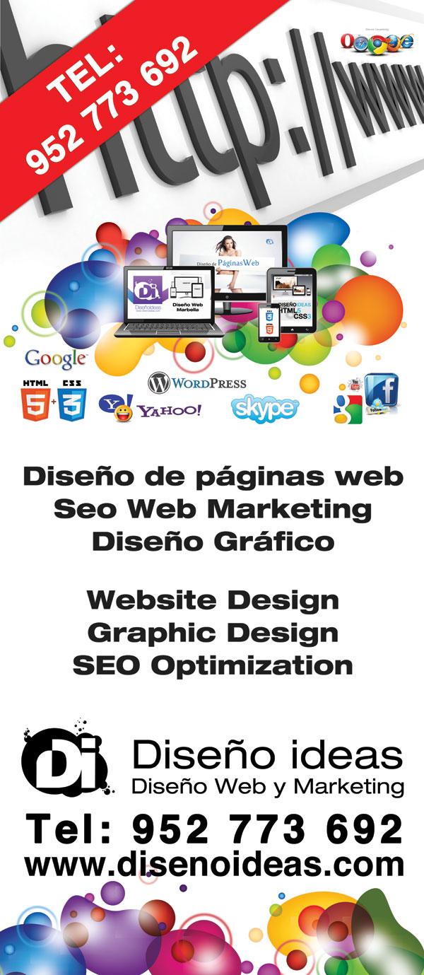 Diseño Ideas Web Site Designers Costa del Sol