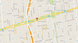 Confiteria Torres mapa ubicación