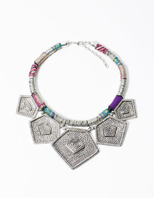 Colar  étnicos boho da Berska bijuteria coleção 2015