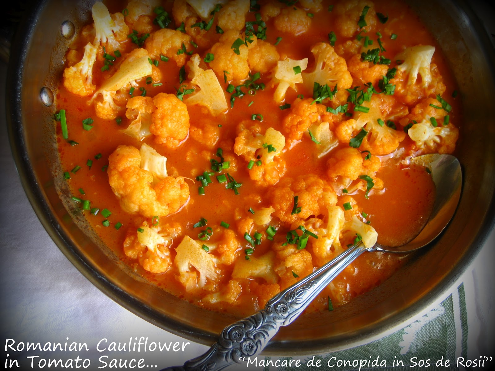 Home Cooking In Montana: Romanian Cauliflower in Tomato Sauce ...
